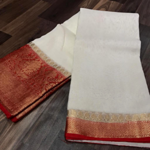 Banarsi Silk Linen Saree